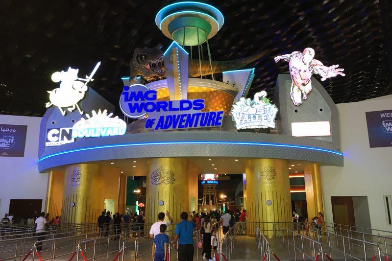 world of adventure Dubai